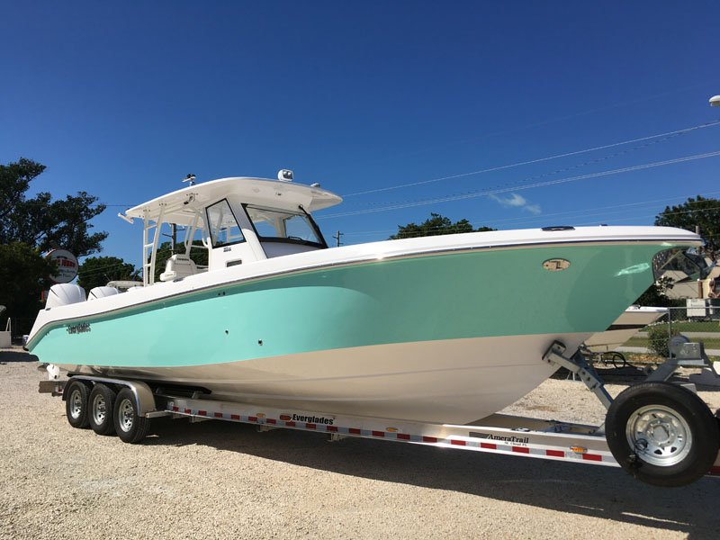 Ebay Boats Florida >> 2017 35′ Everglades 355cc for sale | Yacht Works, Inc.
