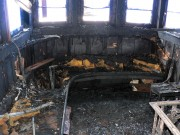 burned interior before restoration