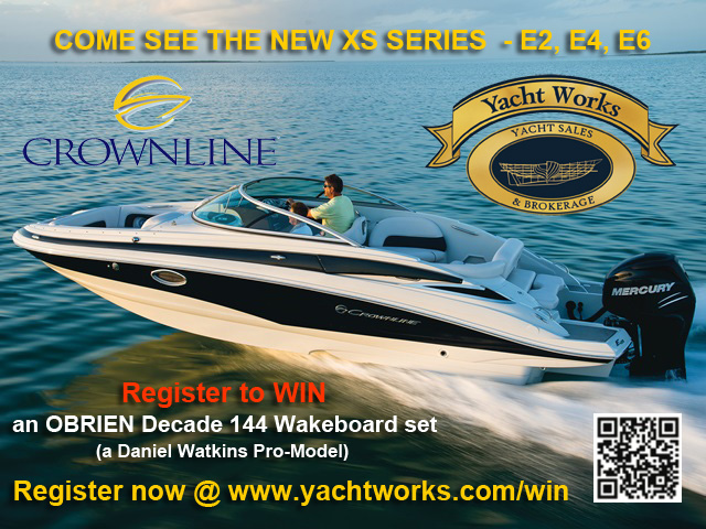 Register to WIN with Crownline Boats!